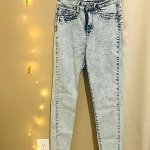 Ymi Luxe Acid Wash Jeans